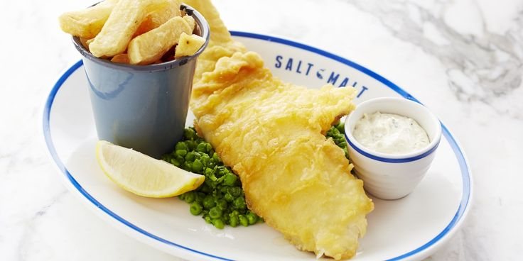 Fish and chips are a British institution. In this classic recipe, Josh Eggleton coats cod fillets in a crisp, golden batter infused with lager and pale ale to create a light as air finish. Served with homemade chunky chips, crushed garden peas and tartare sauce this dish is the pinnacle of British comfort food.