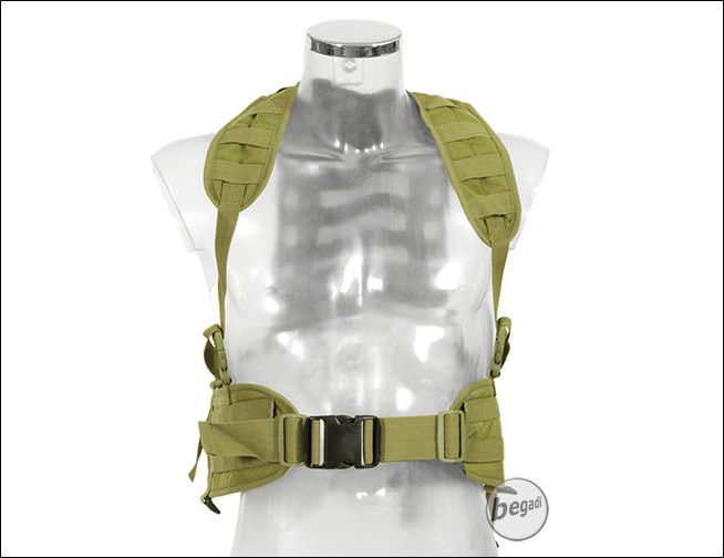 BE-X modular PLCE system, Gen.2, Coyote Tan / MJK - size S - BEGADI- Tactical clothing, airsoft, Outdoor and Accessories