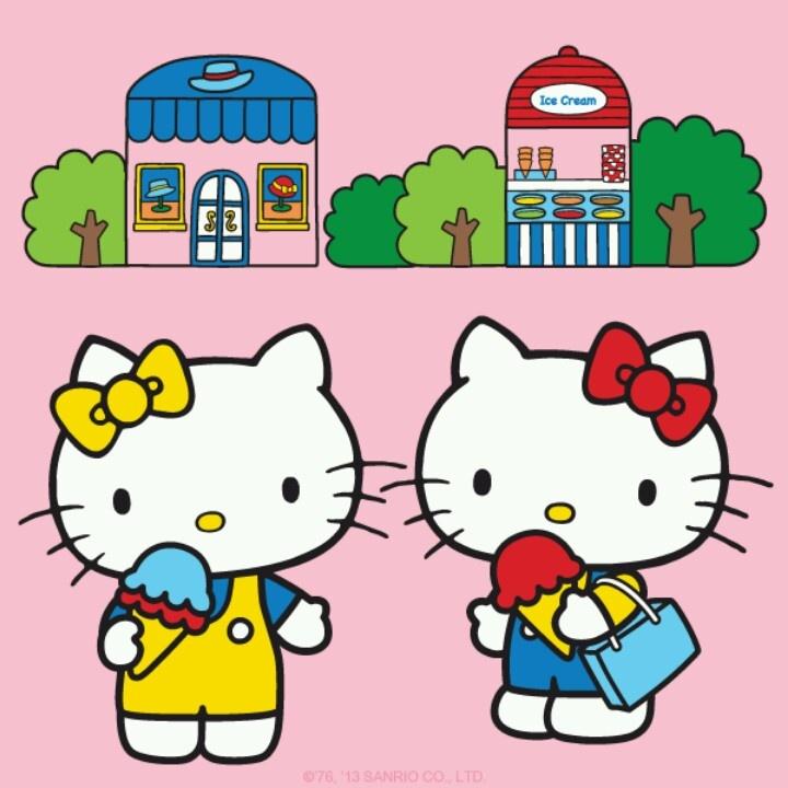 Hello Kitty Amp Her Twin Sister Mimmy Hello Kitty