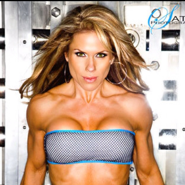 1) Monica Brant's upper body: Nice shoulders and arms!
