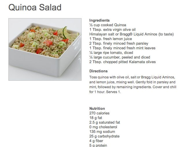 One of the great recipes from the Beachbody Ultimate Reset!