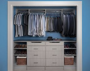 75 best reach in closets images on pinterest reach in closet armoire makeover and armoire redo - Reach In Closet Design Ideas