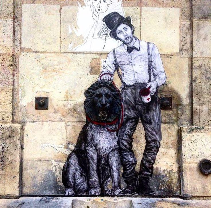 Street Art by Levalet in Paris.