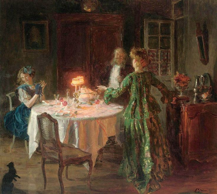 The Dinner Party, Jules Alexandre Grun