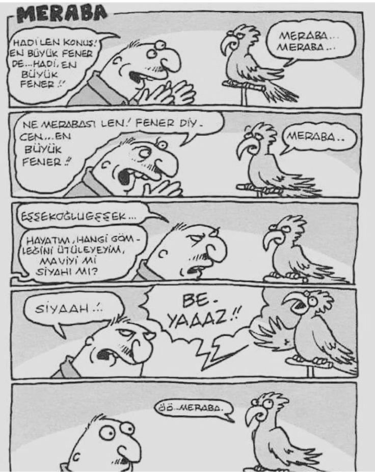 Dünyanın en güzel karikatürü Yiğit Özgür say hello Beşiktaş fans!