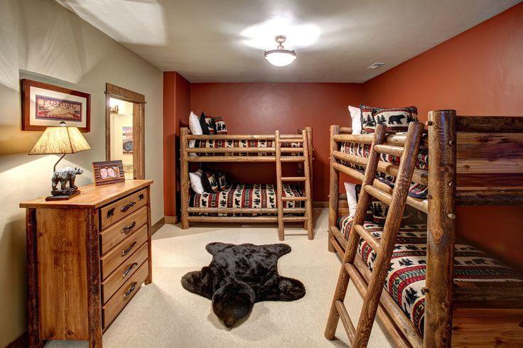 13 best fun kid 39 s rooms images on pinterest bedrooms for Elkhorn lodge cabin gatlinburg tn