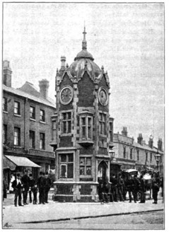 Aston Cross clock