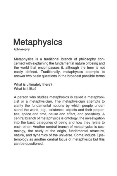 BRANCHES OF PHILOSOPHY. [2/8] #philosophy #typography #typographyposter