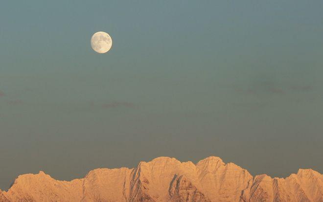 Lunar landscape // by Stewart Wilson, Cranbrook, BC