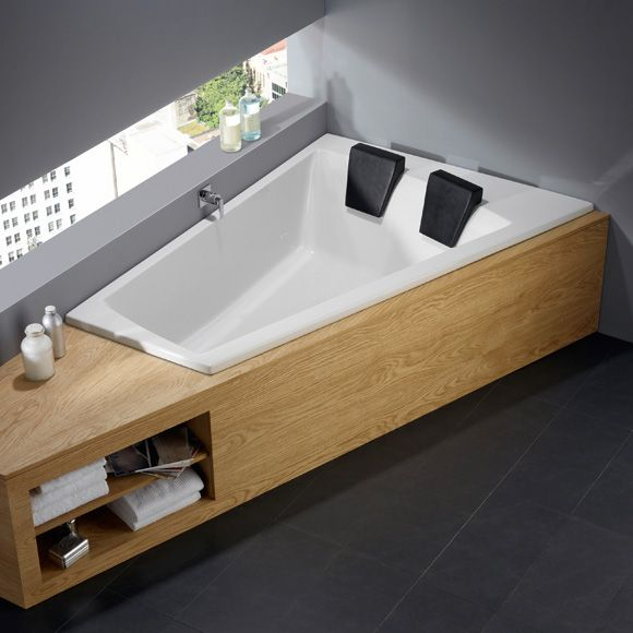 Repabad Genf Duo links Eck Badewanne - 21556WE | Reuter Onlineshop