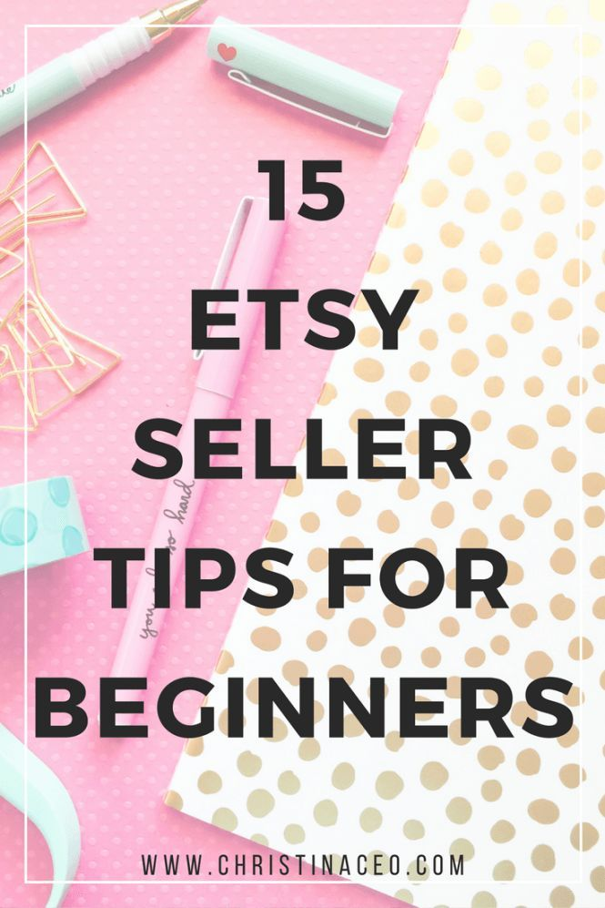 Are you new to selling on Etsy? Even if you're not I'm sure that these 15 tips will help you as an Etsy seller! In this blog I discuss things such as copyright infringement, pricing your items, SEO, and so much more!
