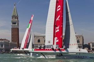 #AmericasCup