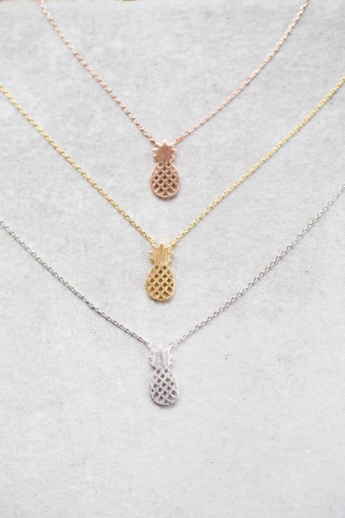 Lovoda - Pineapple Necklace , $15.00 (http://www.lovoda.com/pineapple-necklace/)