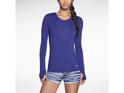 Nike Pro Hypercool Long-Sleeve Camiseta - Mujer
