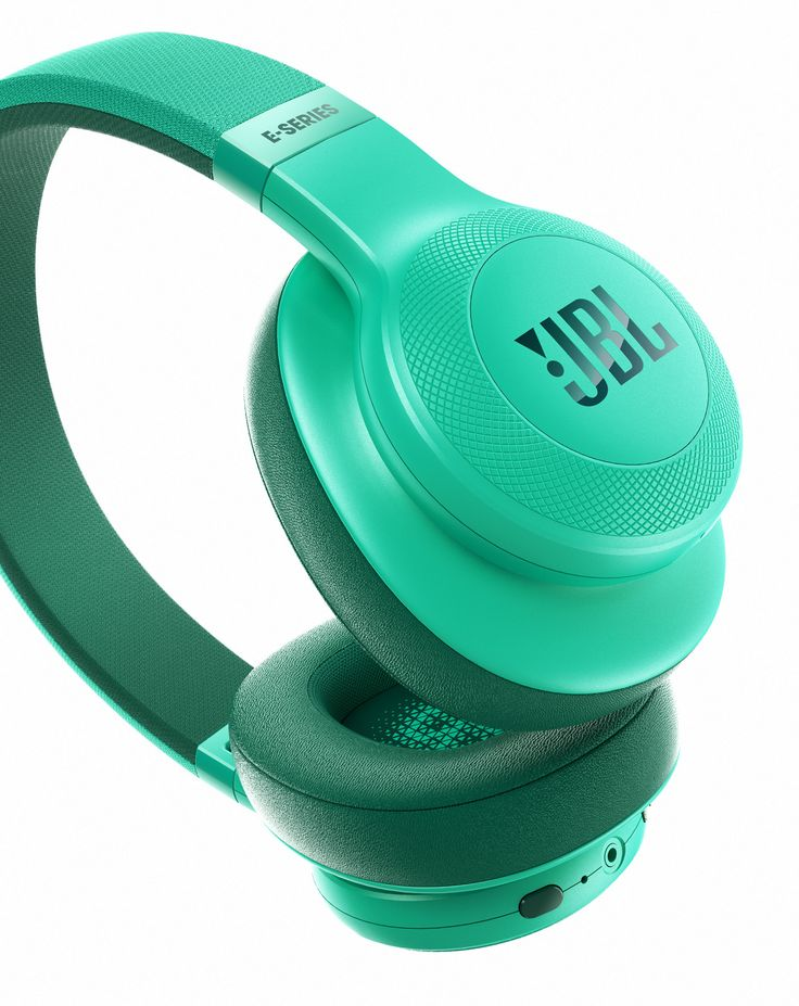 JBL E-Series headphones on Behance
