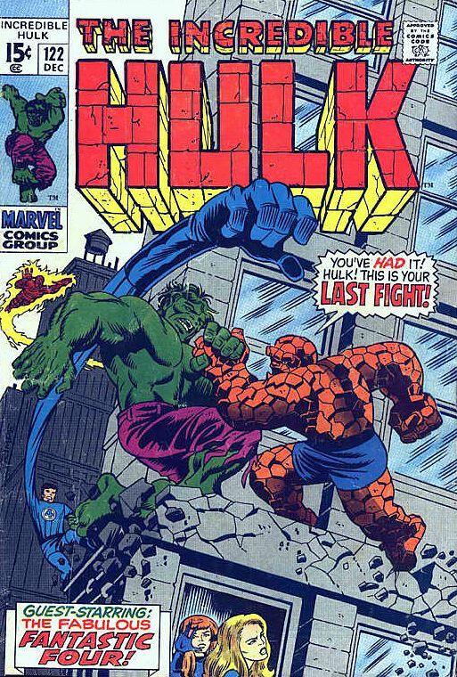 Incredible Hulk # 122 by Herb Trimpe