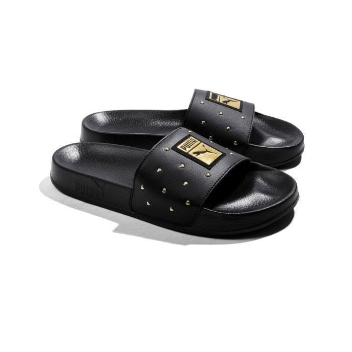 Gold Wedge Puma Sneakers – NikeSaleOnline