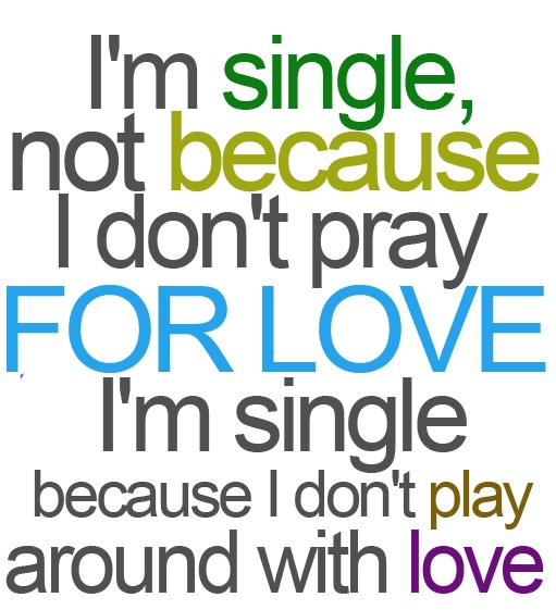 For my single ladies remember this. xo