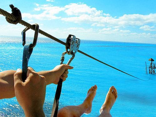 I will go zip-lining before I die!