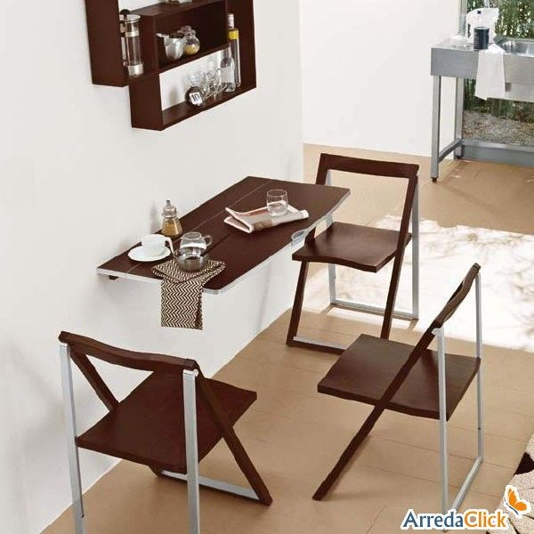 17 best images about projet 4 on pinterest tech news for Table retractable murale