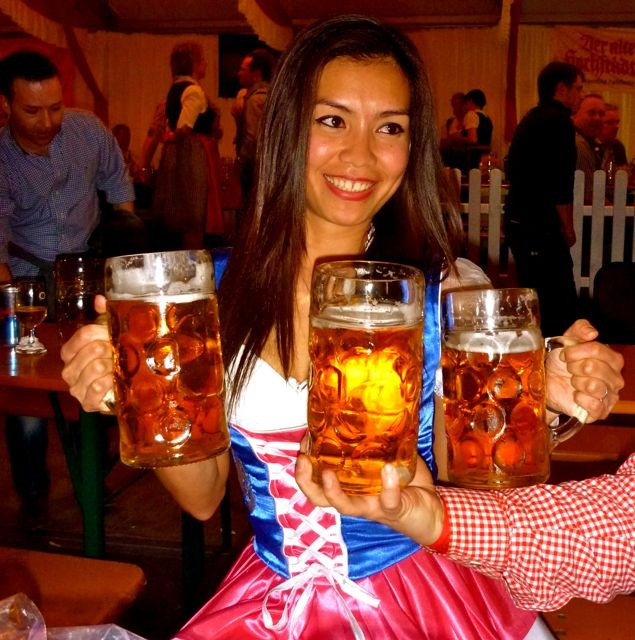TRACHT-NACHT IN FRANKFURT | Bembel Dirndl - Hessen Dirndl by Bembeltown Design and more | follow us on Facebook - www.Facebook.com/Bembeltown |   #Facebook #Bembel #Bembeltown #Trachtnacht #Oktoberfest #Frankfurt #Dippemess #Festzelt #Apfelweinfestival  #Wäldchestag #Sachsenhausen #Apfelwein #Äppler #Tracht #Dirndl