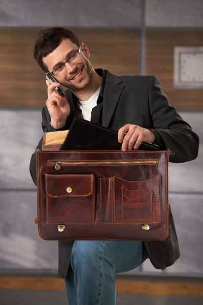 Mens business bags never looked so stylish and cool