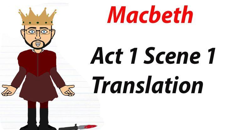 William Shakespeare's 'Macbeth' Act 1 Scene 1: Translation (1 of 60)
