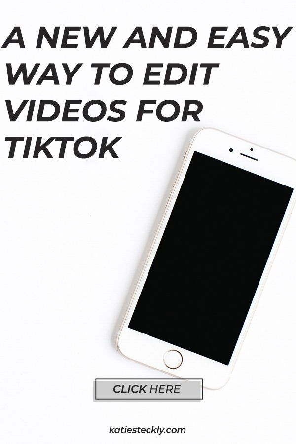 A New Way To Edit Videos For Tiktok Edit Videos Photo Layers
