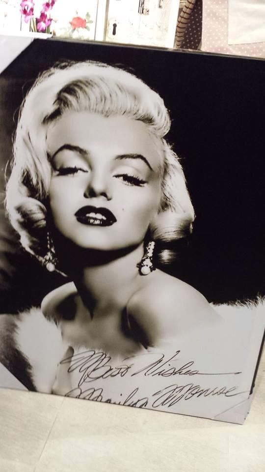 Marilyn Monroe printed canvas She is just timeless isn't she?