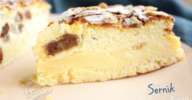 Le sernik : un gâteau polonais à base de fromage blanc, ancêtre du cheesecake et tout aussi délicieux !