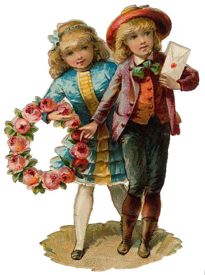 Vintage-Victorian-Christmas-Die-Cut-Clip-Art-31.png (671×900)