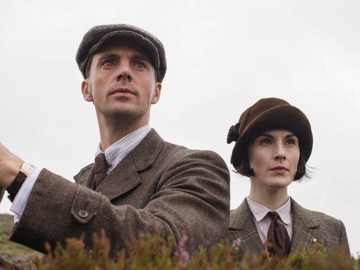 Downton Abbey Series 5 Christmas Special | Henry Talbot and Lady Mary Crawley