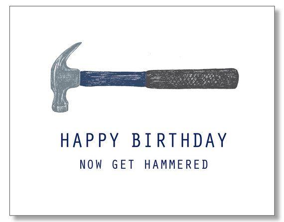 Krijgen dronken Card. partij dierlijke Verjaardag Card.