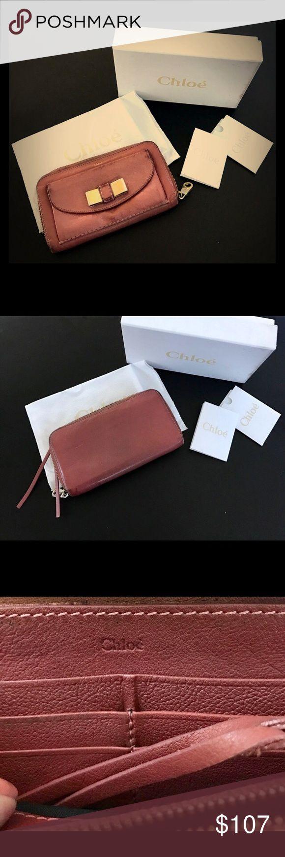 Chloe Wallet Authentic   Chloe wallet!! Bags Wallets