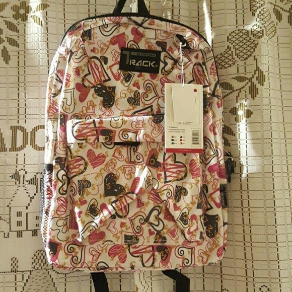 "Track usa backpack Pink. 16'5"" * 5"" * 13. Bags Backpacks"