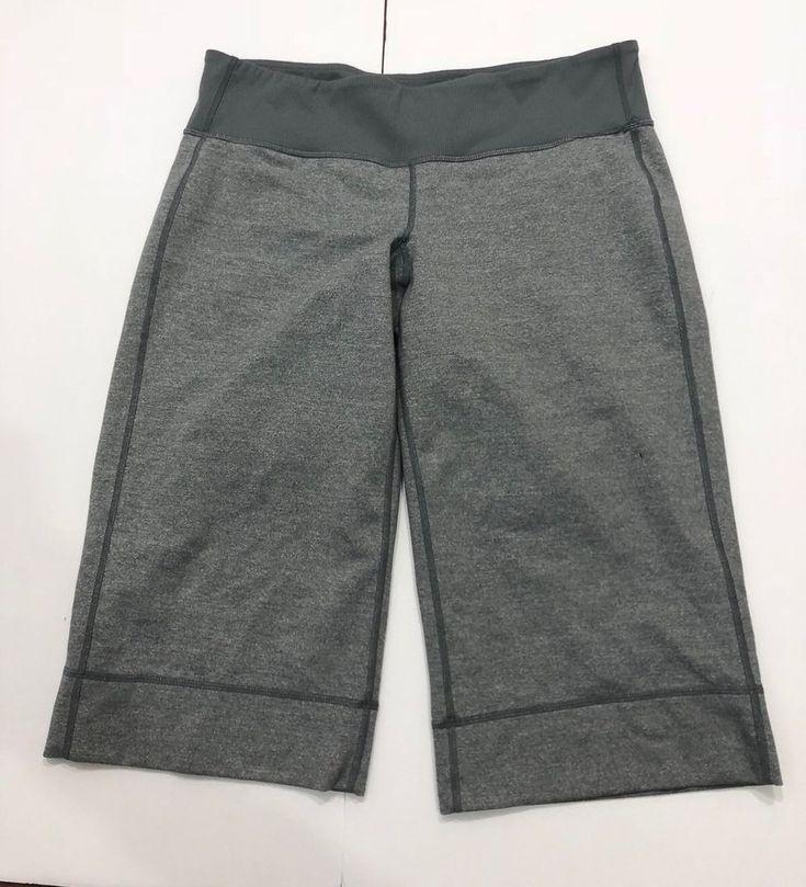 Lululemon Clam Diggers Size 8 Grey  | eBay