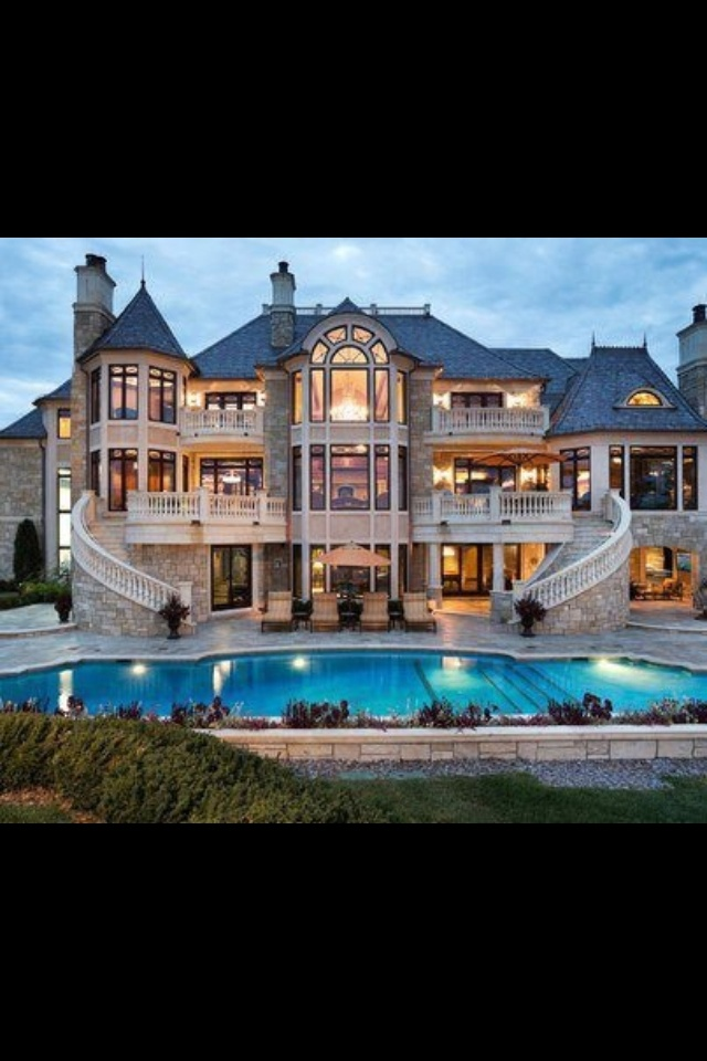 Dream House - Almost has a Fairy Tale look to it