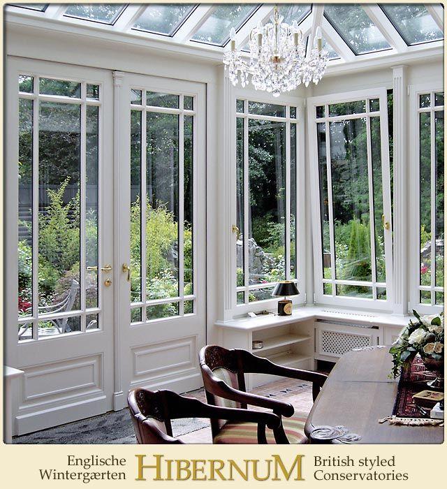 Sprossenfenster Im Englischen Wintergarten Innenausbau