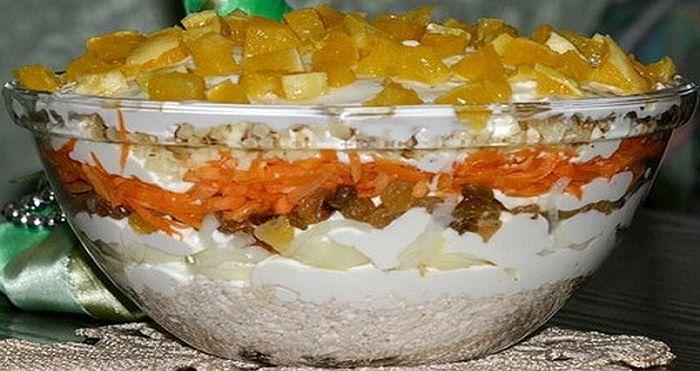 Невероятно вкусный салат «Французская любовница». Оригинальное сочетание кислинки и нежности! – Омутнинские Вести+