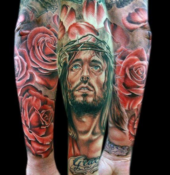 23 best 20 spiritual jesus christ tattoo designs images on pinterest christ tattoo jesus. Black Bedroom Furniture Sets. Home Design Ideas