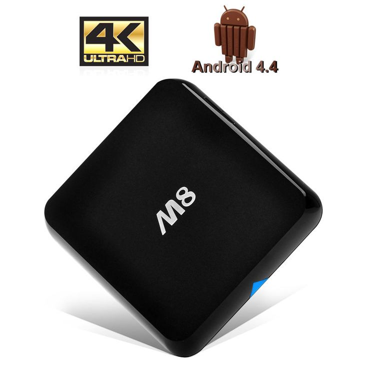 4 Android Box Tv 4k Kitkat Quad Core Xbmc Player Smart Media Wifi Hd 8GB Interna