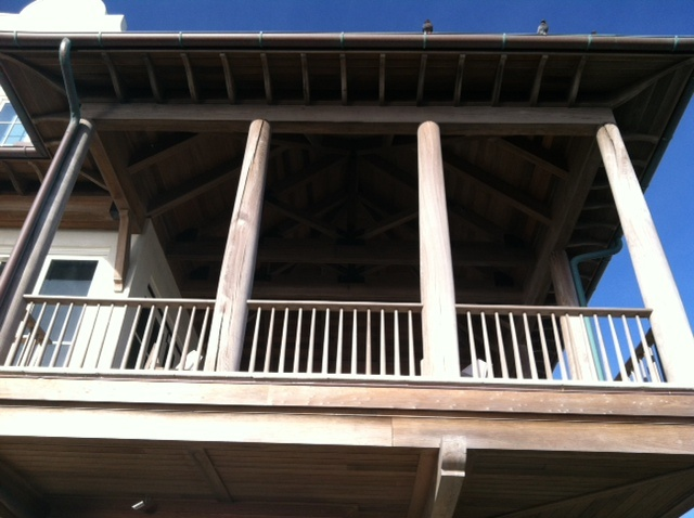 17 best images about porches second story on pinterest for Cypress porch columns