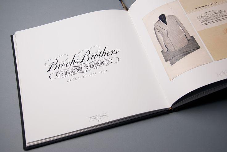 Brooks Brothers brand bookBrooks Brothers, Brand Respect, Beautiful Brand, Brand Book, Brand Brooks, Beautiful Types, Brother Brand, Brooks Bros, Brand Values