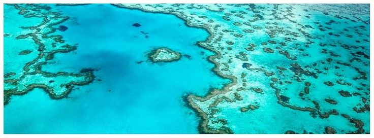 Master Aerial Photography by Jo Wilson. Great Barrier Reef, Australia. The Heart Reef