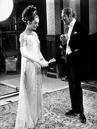 """My Fair Lady"" Audrey Hepburn and Rex Harrison 1964 Warner Bros."