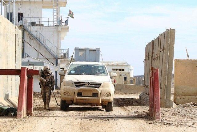 El Batallón de Policía Militar en el despliegue español en Irak-noticia defensa.com