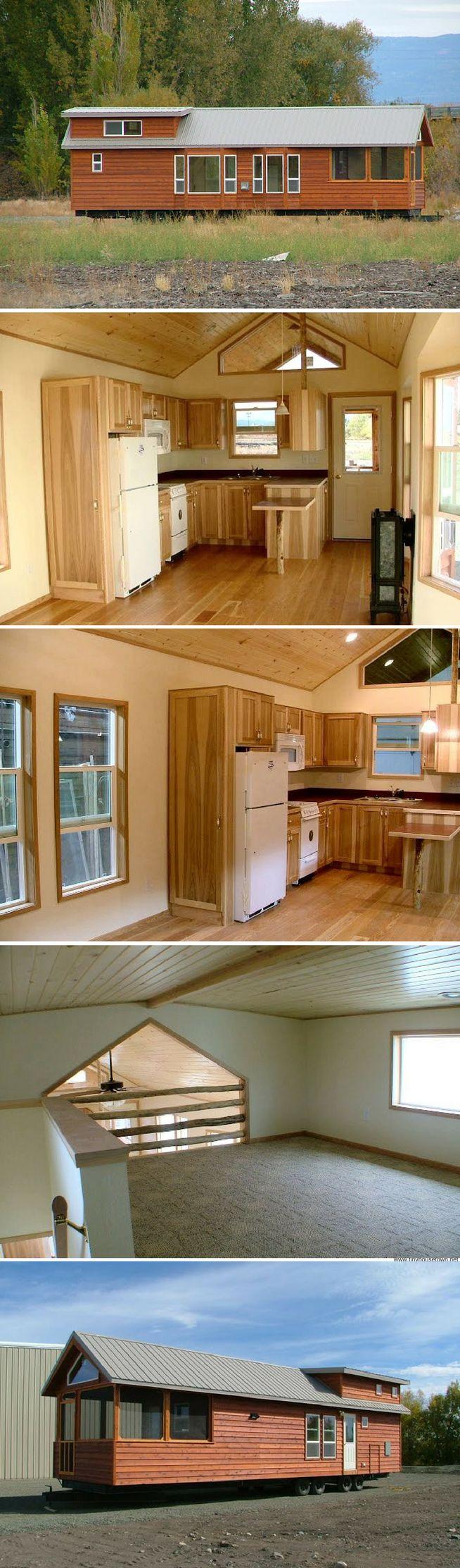 The Watson: a beautiful park model cabin