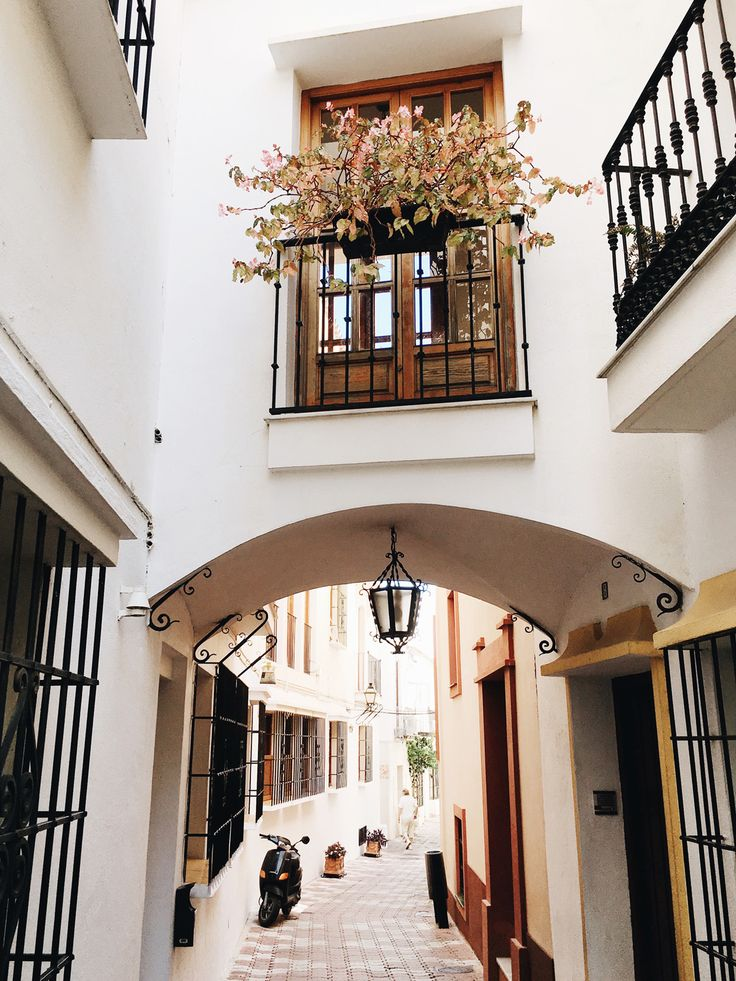 wander the streets of old town Marbella | see our guide to the costa del sol on coco kelley