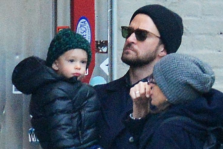 Justin Timberlake and Jessica Biel - Cutest Family Outing | Photo ...