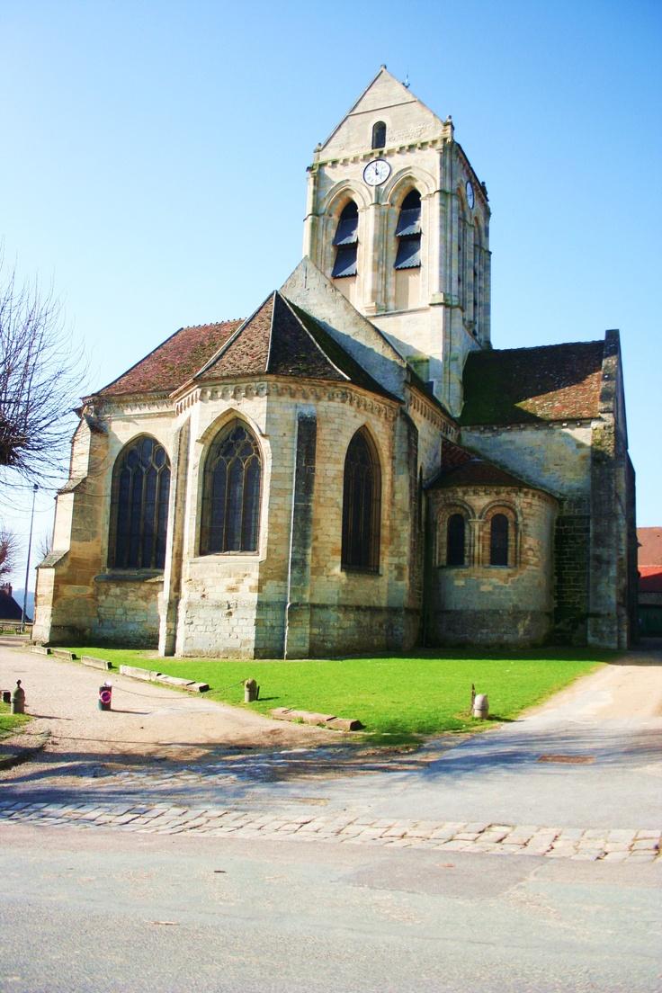 église d'Auvers sur Oise.   Oise